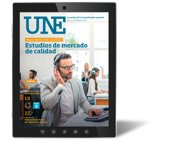 Revista UNE, disponible el número de julio-agosto
